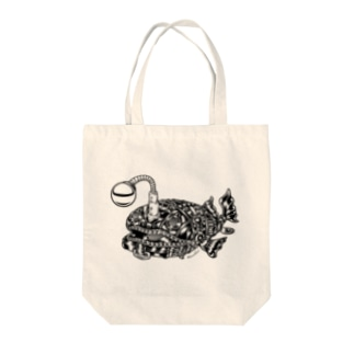 "Animalia Kinky "" Black Atlantic Footballfish ""  Tote bags"