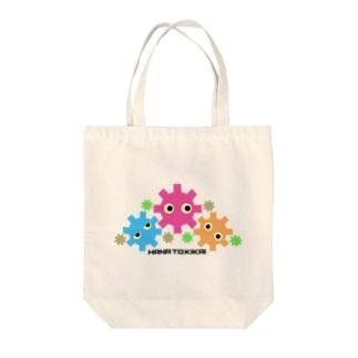 花とキカイ Tote bags