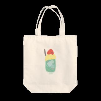 なぬのクリームソーダ Tote bags