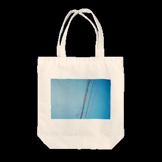 film:のfilm:電線 Tote bags