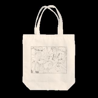 らくがきの手 Tote bags