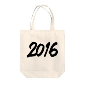 2016 正月グッズ FAT BLACK NEW YEAR 2016 Tote bags