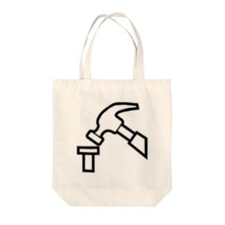 トンカチ Tote bags