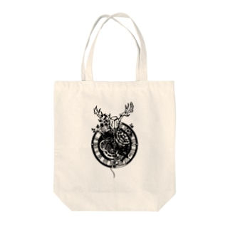 歯車と馴鹿 Tote bags