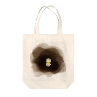 ぴよたん Tote bags
