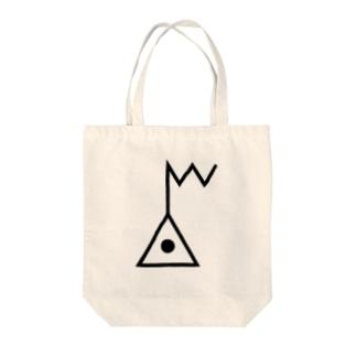 地図記号シリーズ【電子基準点】 Tote bags