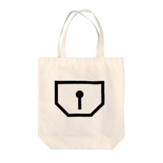 地図記号シリーズ【倉庫】 Tote bags