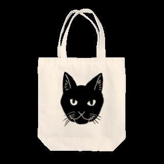 渡邊野乃香のお店の黒猫ジジ Tote bags