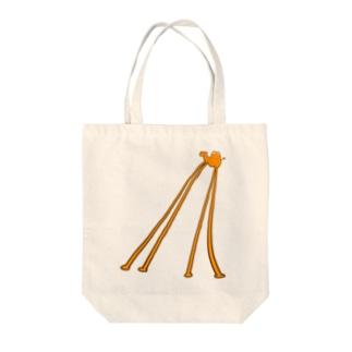 フタコブラクダのおじさん Tote bags