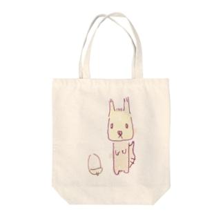 エゾリスちゃん Tote bags