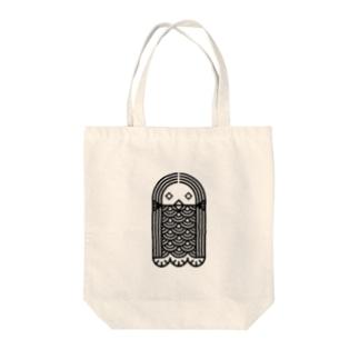 アマビエ Tote bags