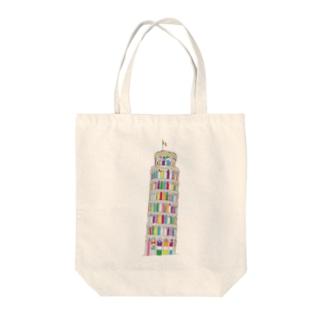 Torre di Pisa Tote bags