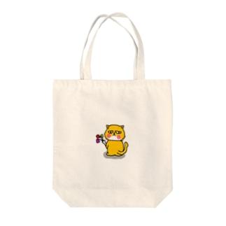 ブサカワにゃんこ Tote bags