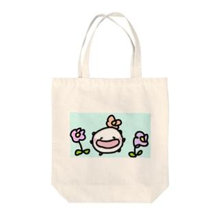 春になって可愛さ倍増なねこです Tote bags