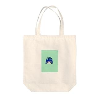 深海blueガール Tote bags
