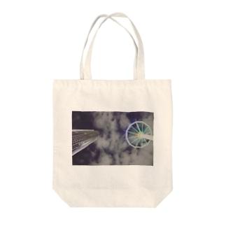 トーキョー・ト・ロック・シティ Tote bags