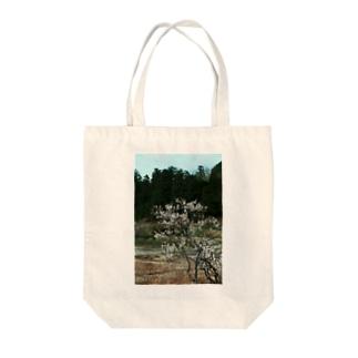 梅 ウメ Japanese apricot DATA_P_102 春 spring Tote bags