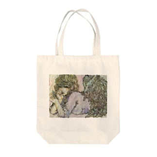 天使(憂い) Tote bags