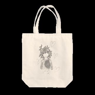 アトリエ葱の愛する心 Tote bags