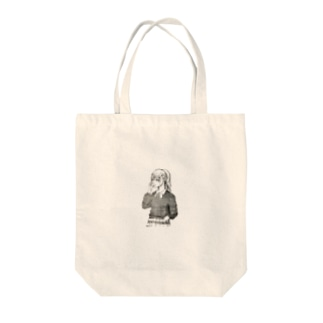 可愛いペン画イラスト Tote bags
