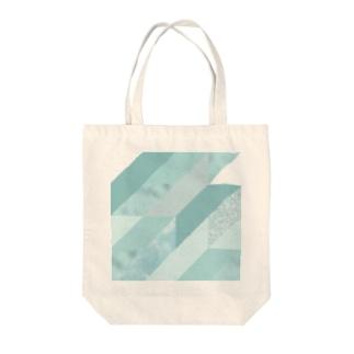 異素材モード系AQUA。 Tote bags