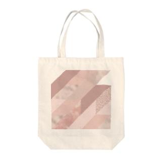 異素材モード系PINK。 Tote bags