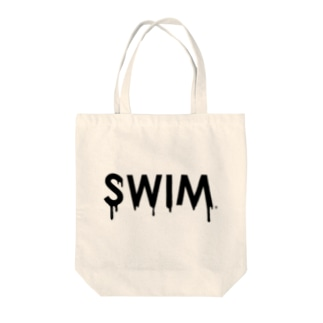 Melty Swim Tote bags