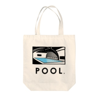 POOL(TATSUMI) Tote bags