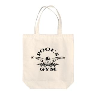 POOL'S GYM Tote bags