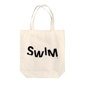 Sink Swim Tote bags