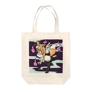 狐お姉さん Tote bags