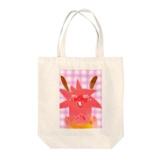 ウサミミコンペイ太郎 Tote bags