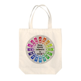 How many colours  is used ? トートバッグ
