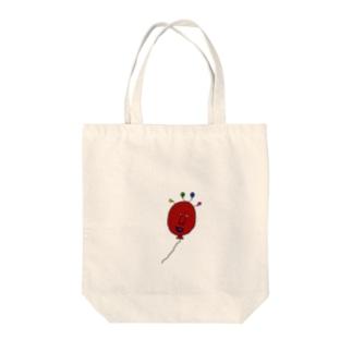 フワフワ風船ちゃん Tote bags