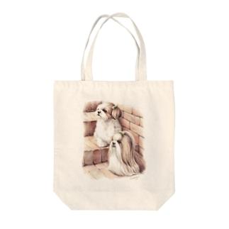 シーズー33 Tote bags
