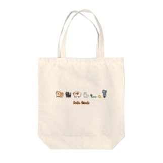 Foodie friends Tote bags