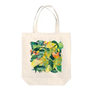 原っぱ Tote bags