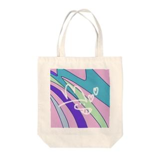 NikoNikoして虹! Tote bags