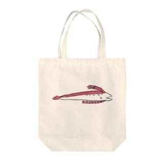 リュウグウノツカイ☆ Tote bags