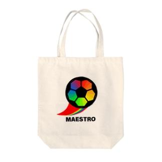 サッカーボール(マエストロ) Tote bags