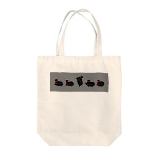 ハリネズミの世界の紳士な針鼠 Tote bags