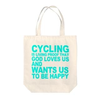 サイクリング万歳 トートバッグ