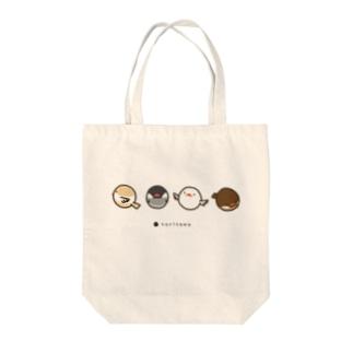 とりたま文鳥 トートバッグ Tote bags