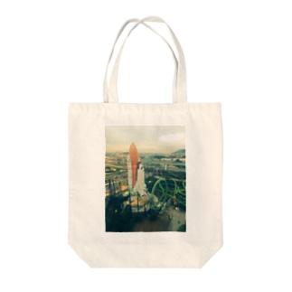 北九州市民の礎 Tote bags