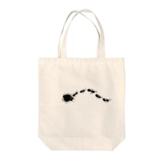 アリの行軍 Tote bags