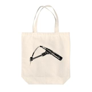 HIBIKI SATO Official Arts.のNo.57  Black Tote bags