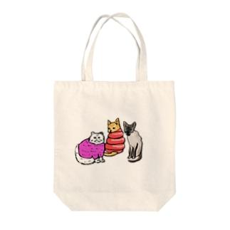 シャム寒 Tote bags