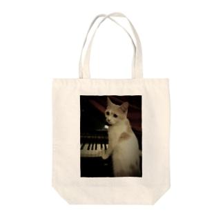 安定感企画 猫編No.2 クイーン Tote bags