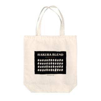 Hakuba Blend オリジナルロゴバック Tote bags