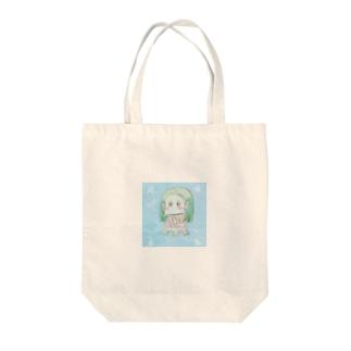 アマビエさま Tote bags